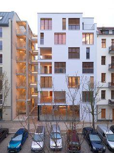Berlin - E3 / Kaden Klingbeil Architekten /// 987m2 / Construction bois - habitat participatif