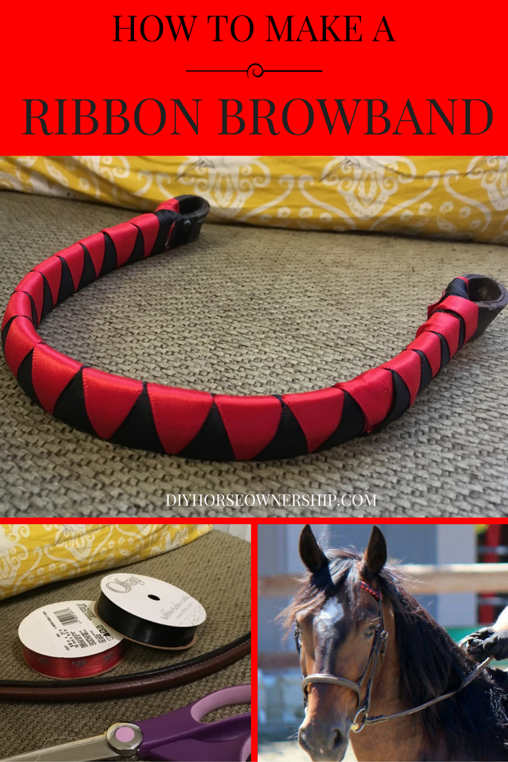 Do it yourself diy how to make a ribbon browband for your horse do it yourself diy how to make a ribbon browband for your horse or mule solutioingenieria Choice Image