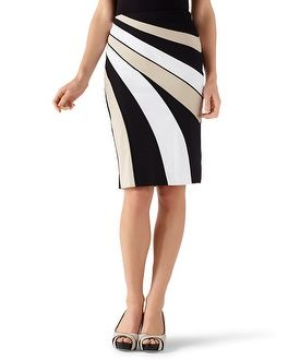 Cotton Sateen Banded Pencil Skirt, from White House Black Market. $49.99 (I have a Skirt that I bought here a lot like this, really cute but I have to get it dry cleaned other wise it is just wrinkled.)