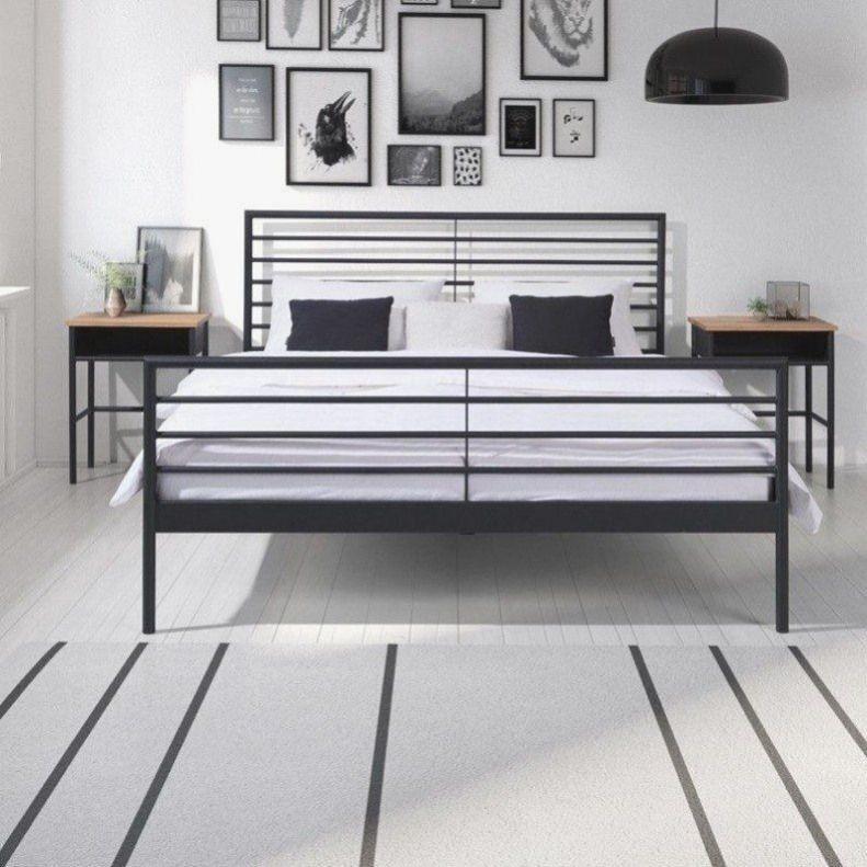 Metallbett 160 200 Best Of Linea Metallbett Eisenbett Bett 160 200 Cm Schwarz Weiss In 2020 Bett 160x200 Schlafzimmer Einrichten Wohnung Schlafzimmer