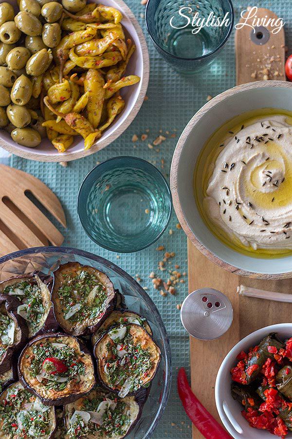 Drei leckere Rezepte aus der Levante Küche | Stylish Living