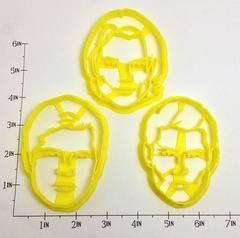 Supernatural Sam and Dean Winchester and Castiel Cookie Cutter Set