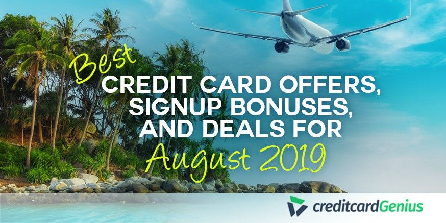 Best credit card offers signup bonuses and deals for