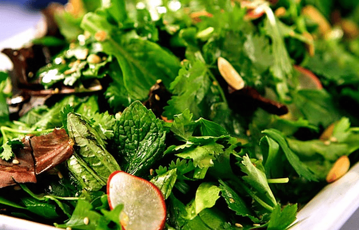 It's Summer. Herbs Are Abundant. Put Them In Your Salads.