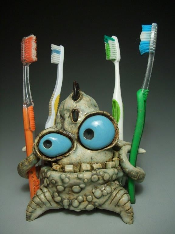 James Derosso Toothbrsh4 Clay Art Projects Clay Crafts