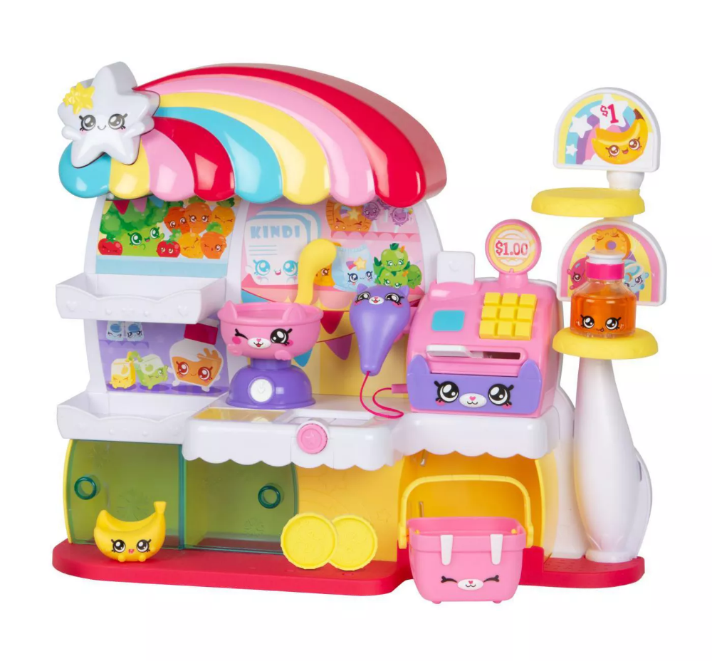 Kindi Kids Supermarket Doll Playsets Business For Kids