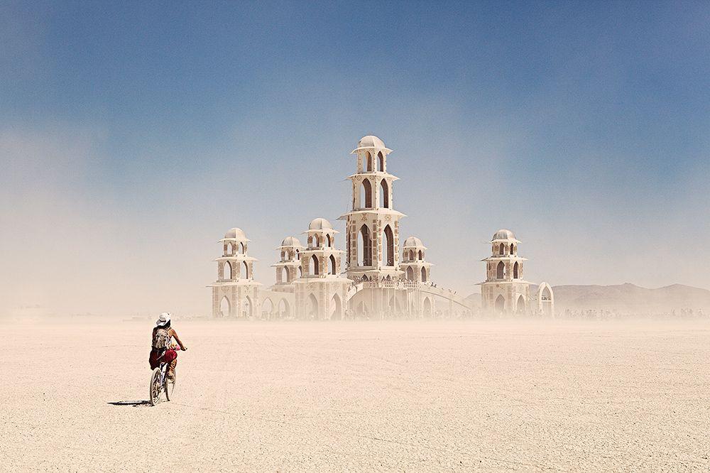 Temple of Transition at Burning Man