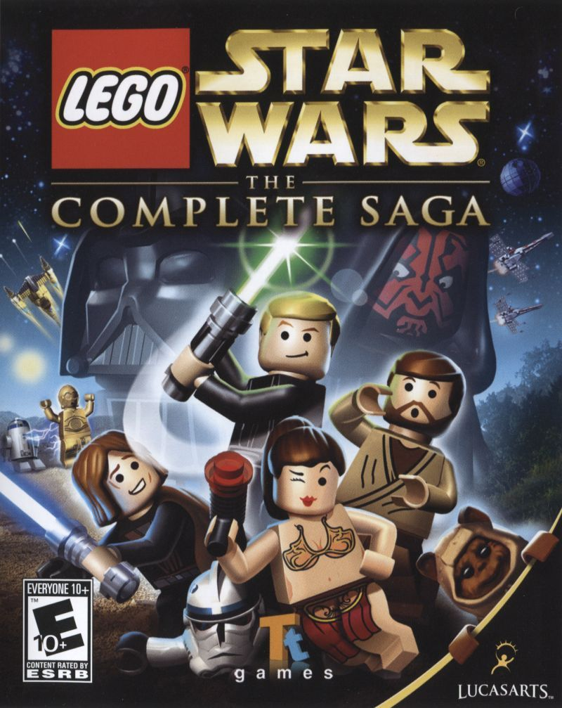 Lego Star Wars The Complete Saga 2007 Star Wars Video Games Lego Star Wars Party Lego Star Wars