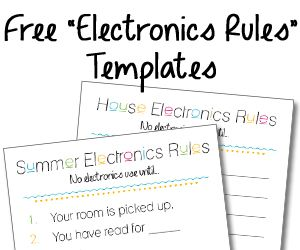 "A Device Attached To The System Is Not Functioning Captivating Summer Electronics Rules"" Checklist And Free Blank ""house Decorating Inspiration"