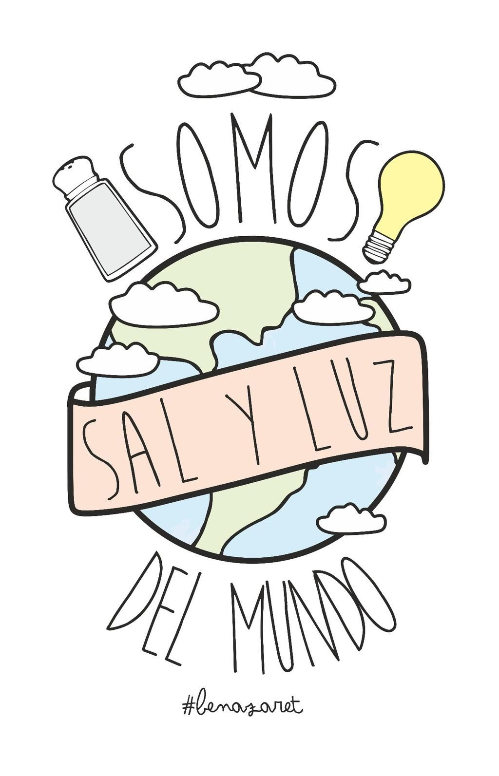 Somos sal y luz del mundo. | My God | Pinterest | Bible, Christian ...