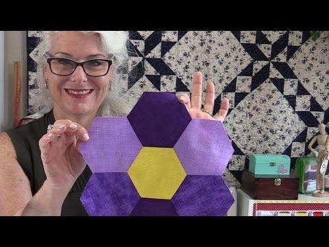 Free Unique Hexagon Star Quilt Pattern - YouTube | blocks ... : hexagon star quilt pattern free - Adamdwight.com
