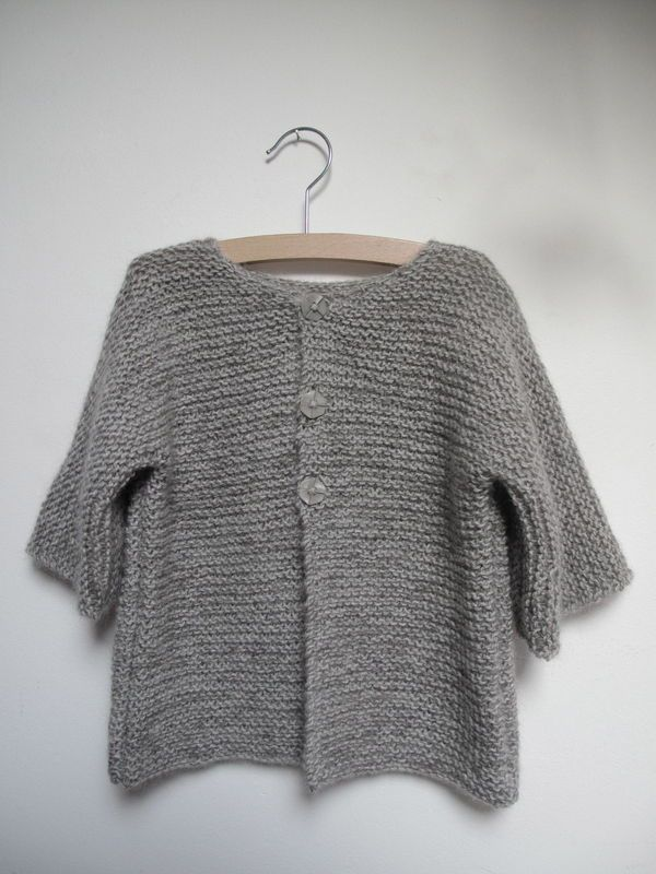 patron tricot pull 10 ans