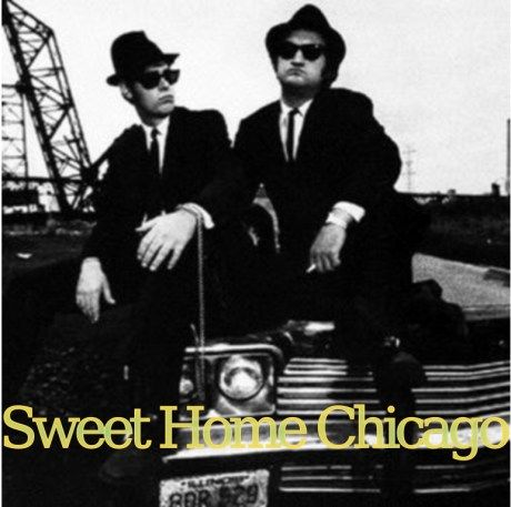 Check out sweet home chicago (from the blues brothers movie) by instrumental all stars on amazon music. Sweet Home Chicago Blues Brothers Imagenes Hilarantes Peliculas
