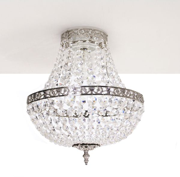 Bathtub Chandelier: Classic Bathroom Chandelier. IP44 Rated (safe For Use In