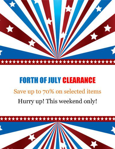 Clearance Labor Day Flyer Template Marketing Flyers Flyer