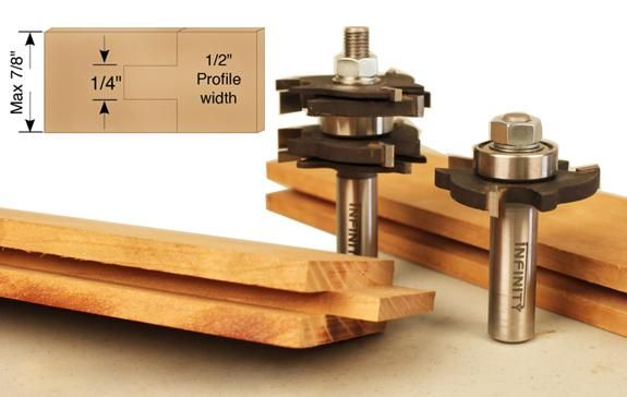 Tongue And Groove Bits Infinity Tools Tongue And Groove Router Bits Wood Creations