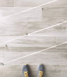 Charming These White Oak, Wood Look Tiles Are Striking. Crazy How Much They Look Like
