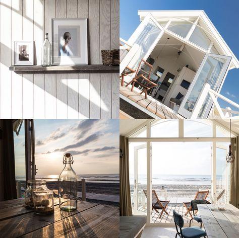aufwachen am strand von den haag in holland jetzt k nnen sie ein strandhaus mieten unterwegs. Black Bedroom Furniture Sets. Home Design Ideas