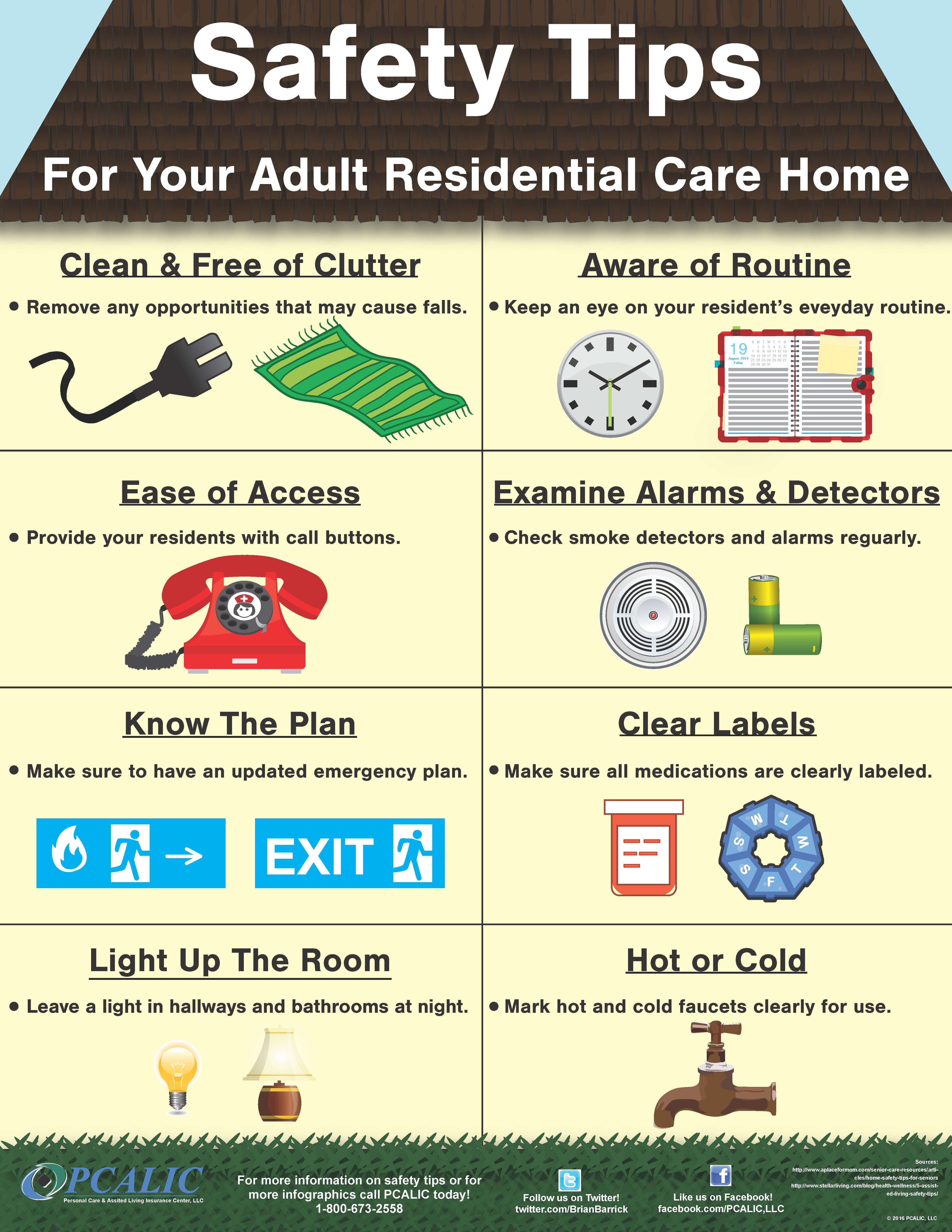 Safety Tips For Your Adult Residential Care Homes And