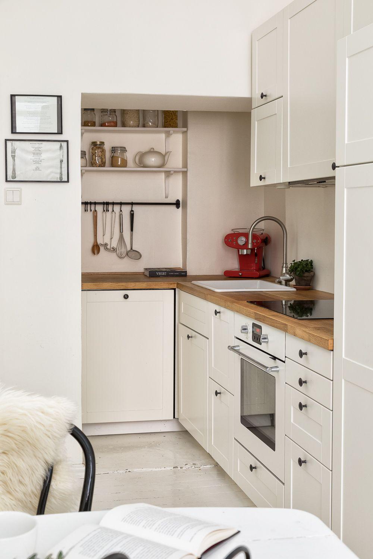 pienen keittiön sisustus