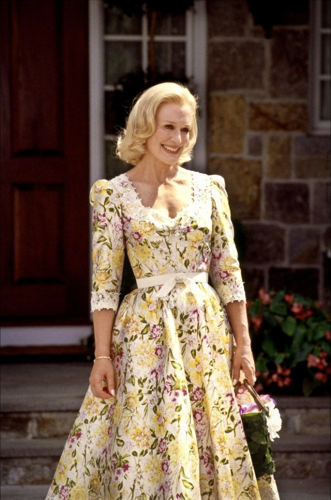 Glenn Close In The Stepford Wives I Think This Was Suppose To Be A Tongue Cheek Dress But Loved It
