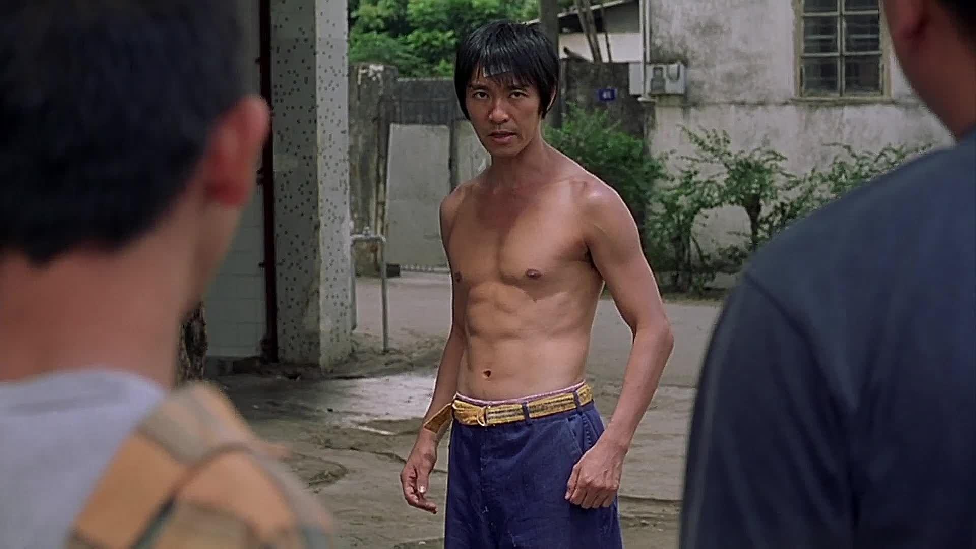 M A A C Maac Fight Of The Day Stephen Chow Vs Street Thugs From Shaolin Soccer Shaolin Soccer Shaolin Soccer