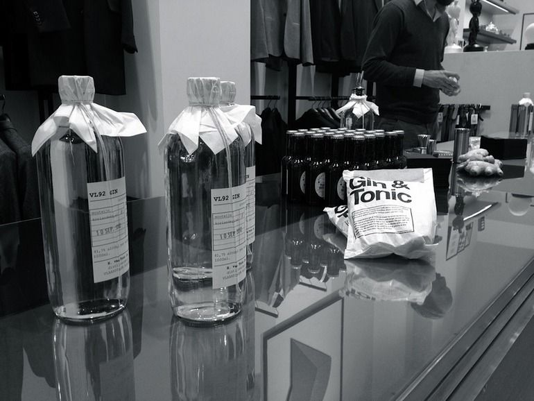 G&T's at Paul Smith