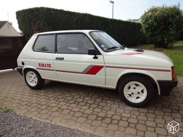 VoitureVoiture Rallye Auto's 1983Franse De Talbot Samba UpVzSM