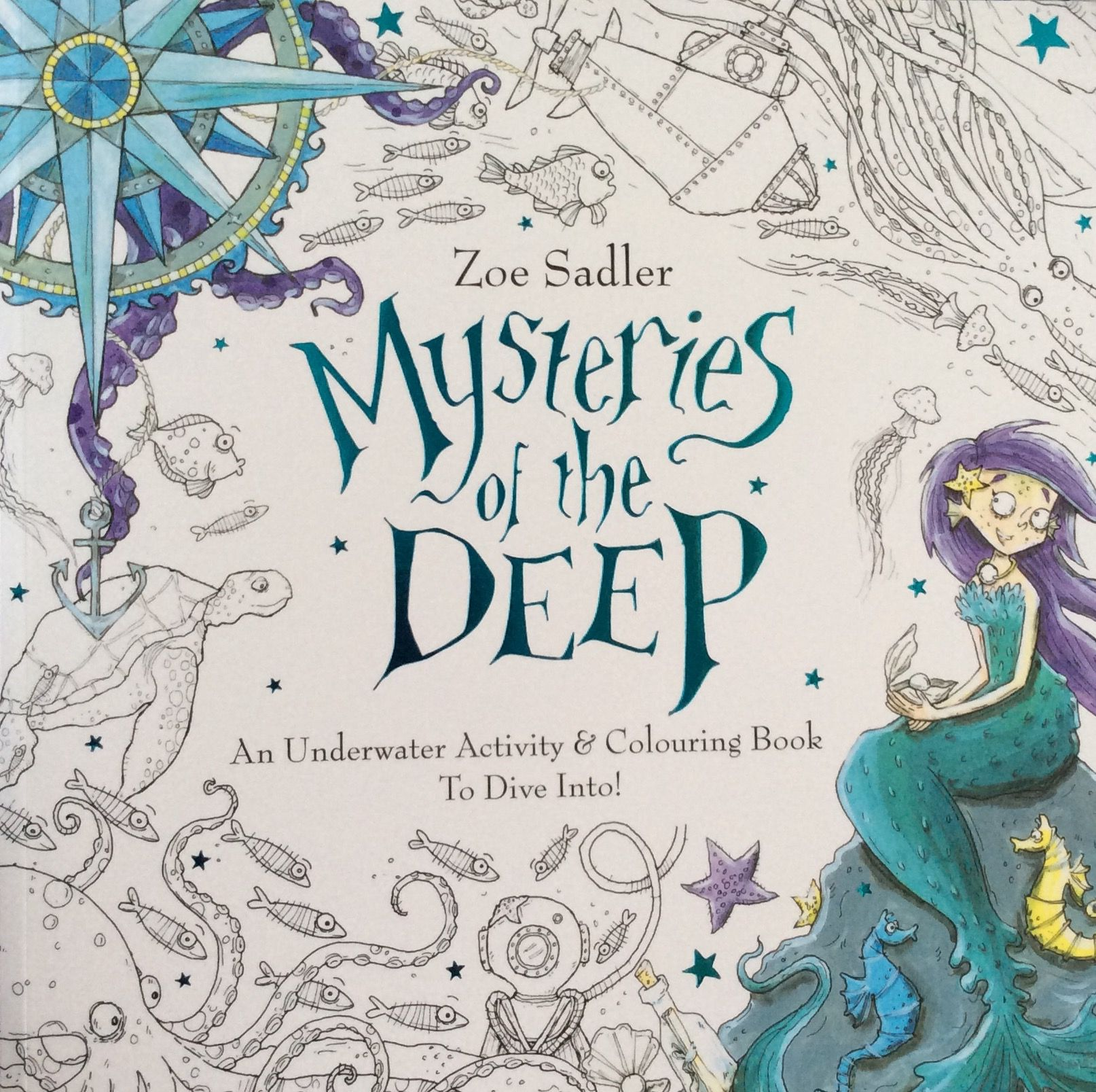 Mysteries of the Deep, Zoe Sadler, Isle of Wight, my