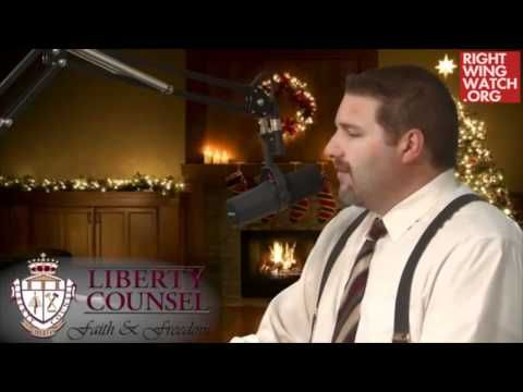 Supreme moron - Christian fundamentalist Matt Barber wants to punch atheists in the mouth for not being able to erect nativity scene on public land