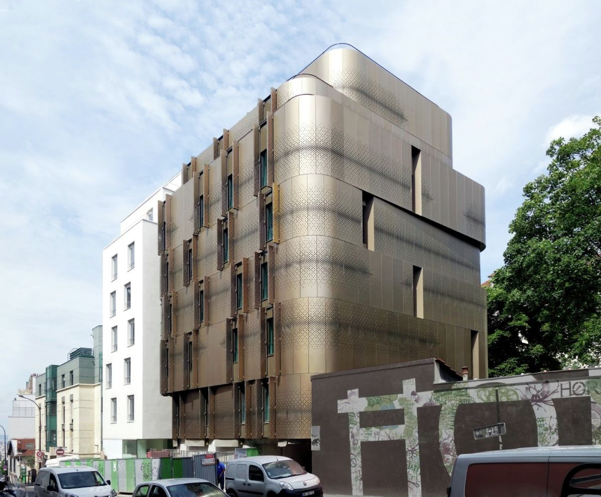 Galería - Vivienda para estudiantes y guardería para Paris / VIB Architecture - 7