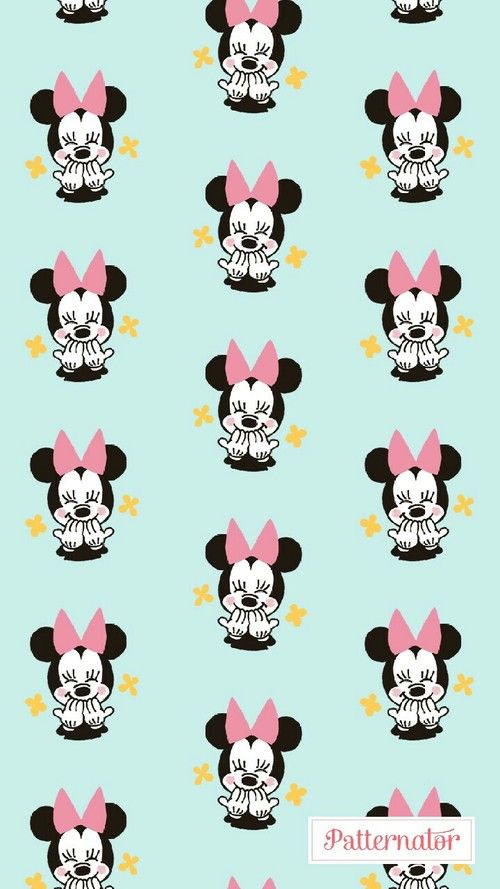 Minnie Mouse Cute Wallpaper And Pattern Mickey Mouse Wallpaper Mickey Mouse Wallpaper Iphone Minnie Mouse Pictures