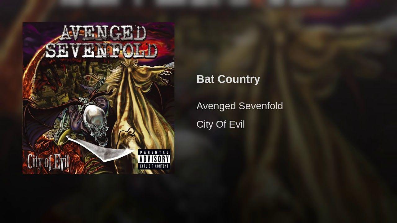 Bat Country Avenged Sevenfold Rip Jimmy The Rev Sullivan