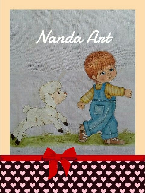 Menino com ovelha Projeto: Fernanda Bahiense