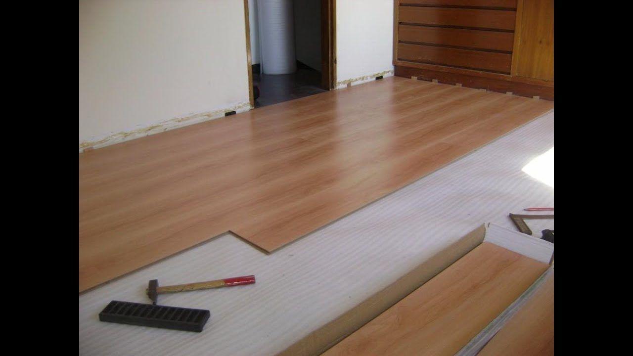 Cómo instalar piso de madera laminado paso a paso Pisos