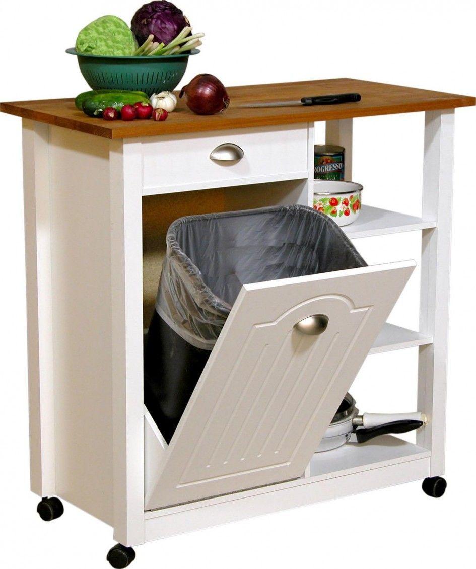 Kitchen impressive tilt out kitchen trash can