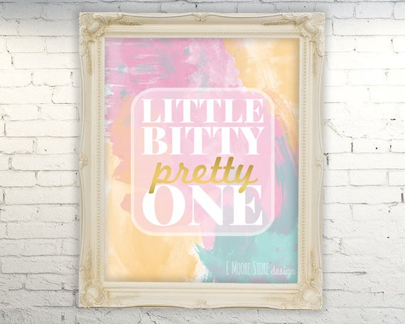 Wall Art Gift Pretty In Pink Poster Print Home Decor
