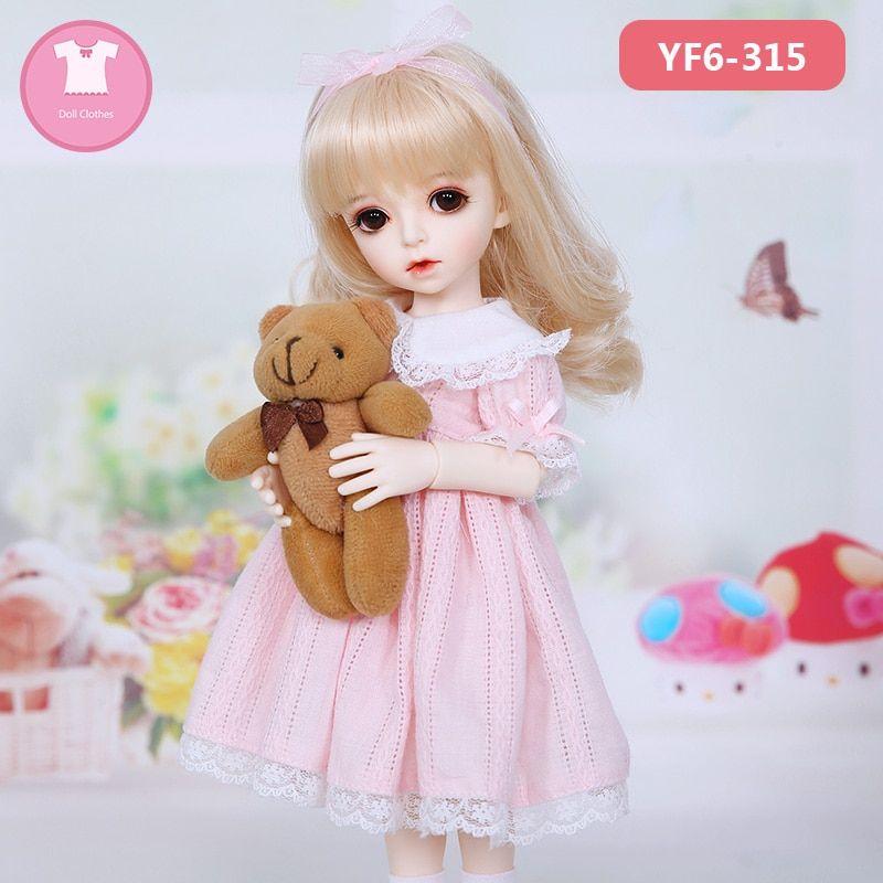 Denim Skirt Doll Accories for 1//6 BJD Girl Doll Clothes Children Toy Gift