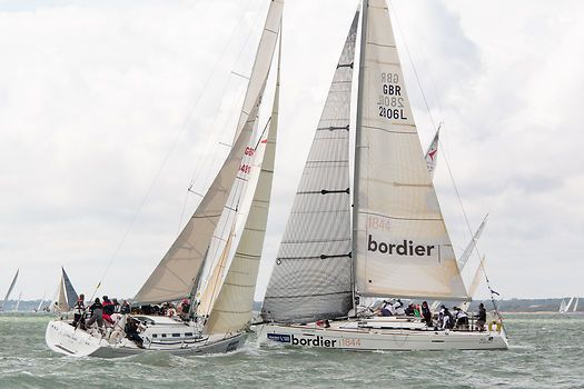The Beneteau First 40 7 and First 40 yachts 'Keel Over' and