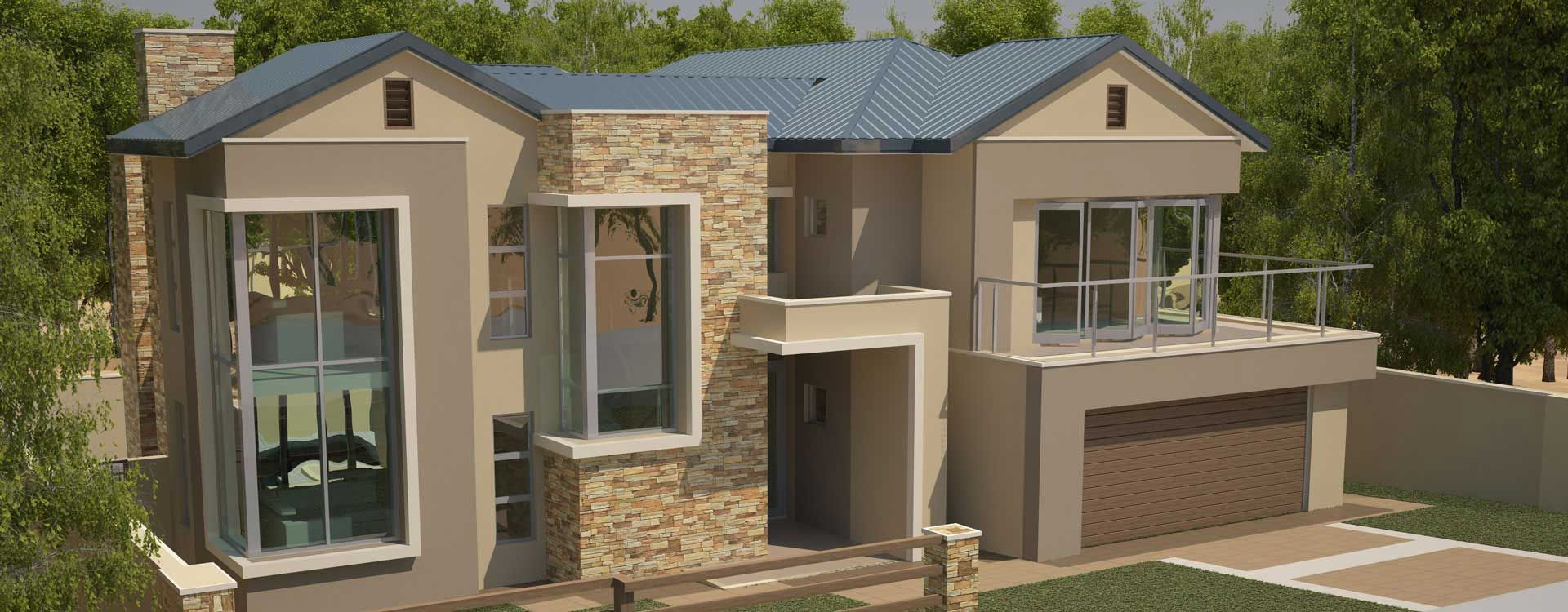 Modern 4 Bedroom House Designs Plans House Plans South Africa