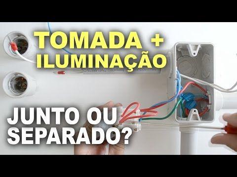 Circuito De Iluminacao E Tomadas Juntos Pode Instalacao De Lampada Instalacoes Eletricas Iluminacao
