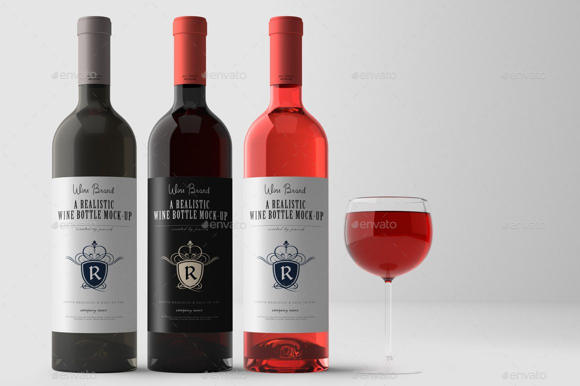 Wine Mockup Kit Ad Kit Affiliate Liquor Store Wine Mockup Liquor Store Wine Bottle Design Wine Bottle
