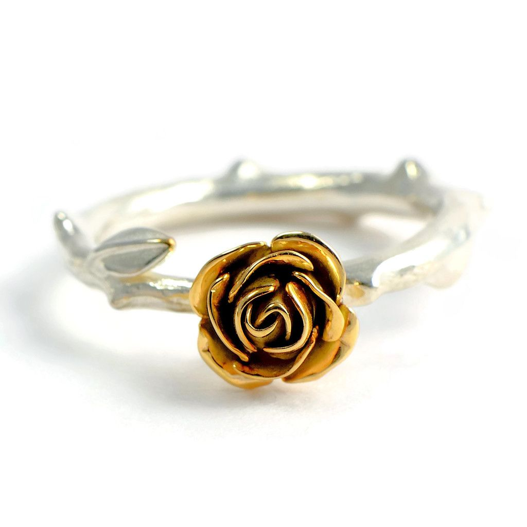 Get 15 Of With Pinforyou1 At The Check Out 9 Carats Yellow Ecogold Rose Ring Silver: Yellow Roses Wedding Rings At Reisefeber.org