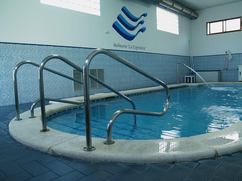 balneario la esperanza ALBACETE ESPAÑA aguas mineralomedicinales todo el año salvo invierno