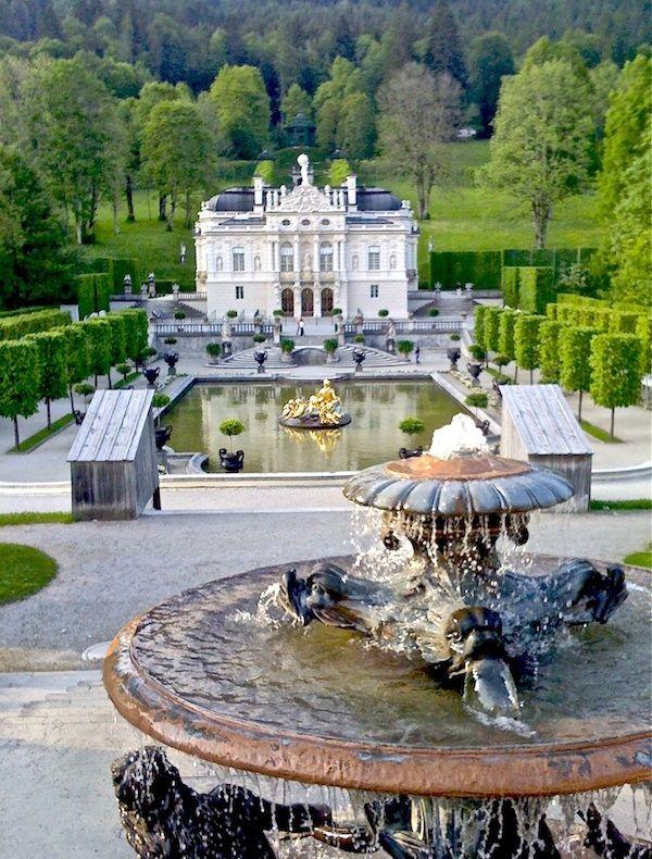 Bavarian Palace European Architecture Royal Homes Opulent Design European Architecture Opulence Architecture Building