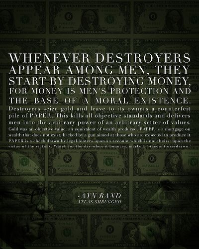 This Quote Is From Francisco S Money Speech In Atlas