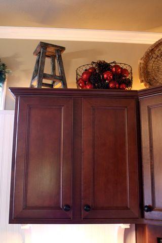 Soffit ideas | Decorating above kitchen cabinets, Kitchen ...