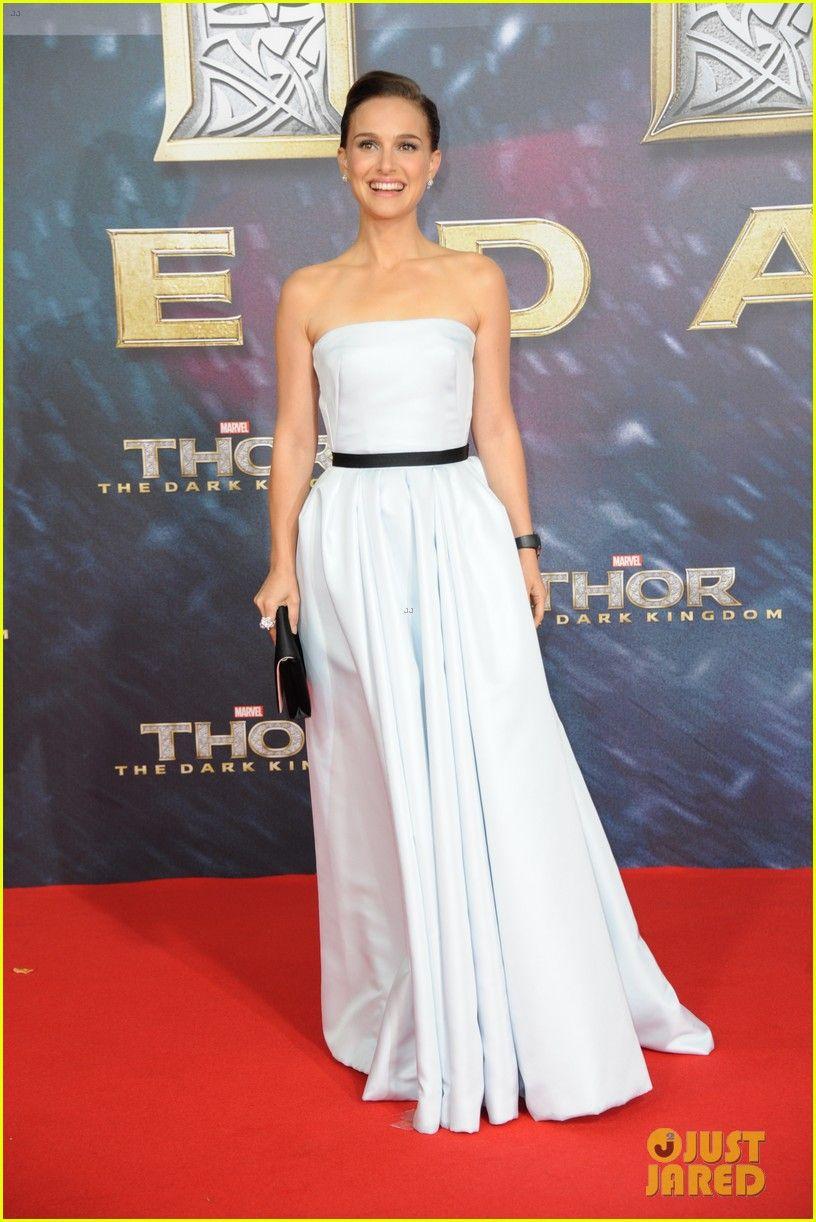 Natalie Portman looking lovely in Dior dress. | Natalie Portman ...