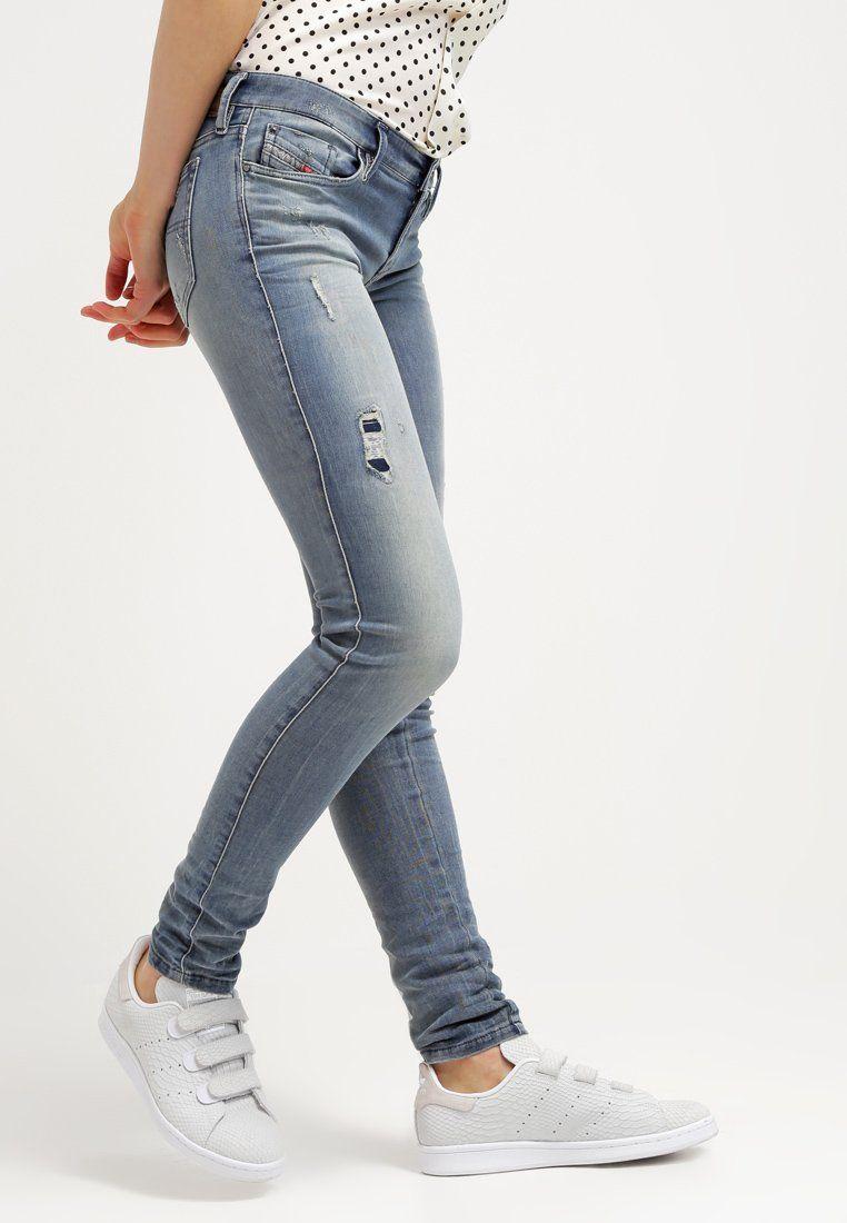 f044ea0aa492 Diesel SKINZEE-LOW Jean slim 851g prix Jeans Femme Zalando 200.00 €