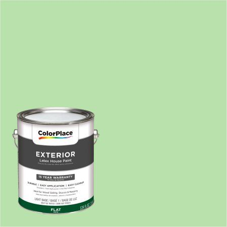 ColorPlace Exterior Paint, Window Garden Green, #50GY 69/306